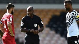 BAME Referee Sam Allison look to motivate more officials
