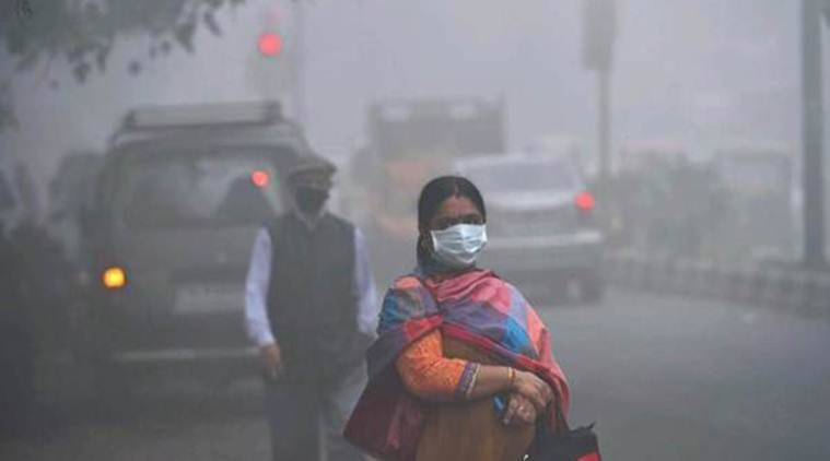 Air quality in New Delhi is deteriorating after celebrations in Dussehra