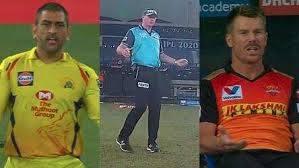The referee changes his mind after a long call: MS Dhoni and David Warner gesture angrily
